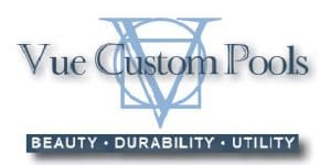 Vue Custom Pools & Design Logo
